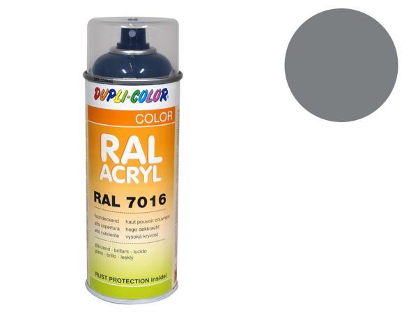 Dupli-Color Acryl-Spray RAL 7037 staubgrau, glänzend - 400 ml,  10064856 - Bild 1