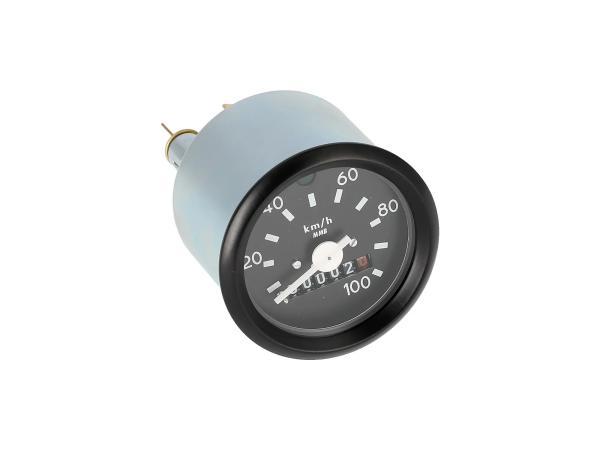 Tachometer mit Blinkkontrolle, ohne Logo, 100km/h-Ausführung,  10001713 - Bild 1