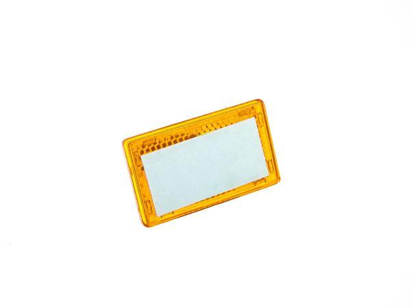 Seitenstrahler gelb 36x61 selbstklebend,  10061870 - Bild 1
