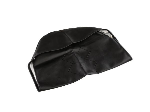 Sitzbezug schwarz, Originalprägung, neue Ausführung - für MZ ES175, ES250,  10056846 - Bild 1