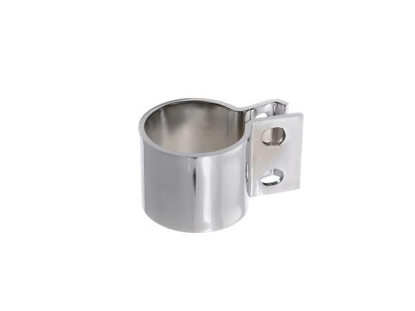 Schelle klein 45mm mit Halterung für Auspuff ES175/2, ES250/2, TS250, ETS250,  10058992 - Bild 1