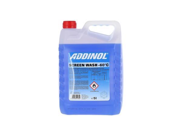 ADDINOL ScreenWash Frostschutz + Scheibenreiniger bei -60°C - 5l,  10039116 - Bild 1
