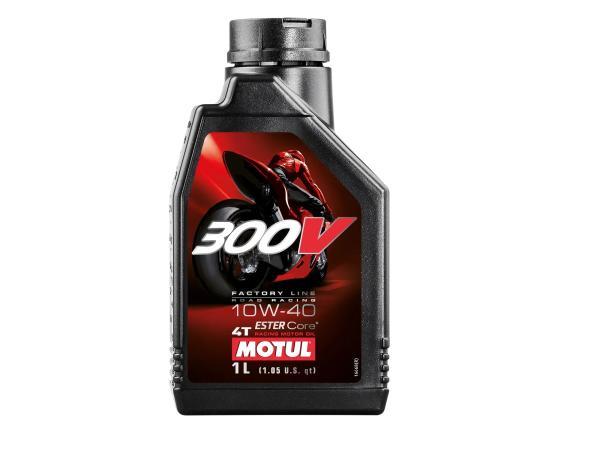 10056376 MOTUL 300 V 4 T Factory Line - Getriebeöl SAE10W-40 - 1 Liter - Bild 1