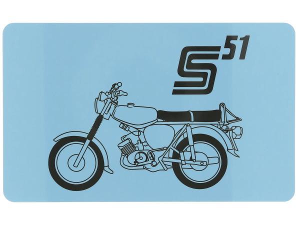 "Frühstücksbrettchen ""S51"" 23,3 x 14,3 cm,  10070854 - Bild 1"