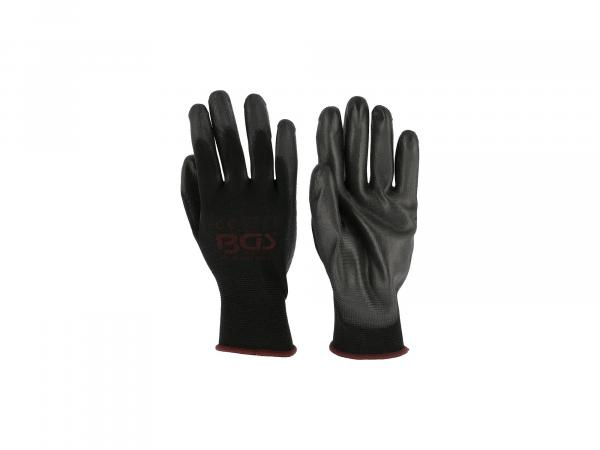 K10000067 1Paar Mechaniker-Handschuhe, PU-Teilbeschichtung - Bild 1