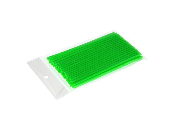 Set: 36x Speichen-Cover Neon-Grün, Speichenschutz, Länge 180mm,  10069758 - Bild 1