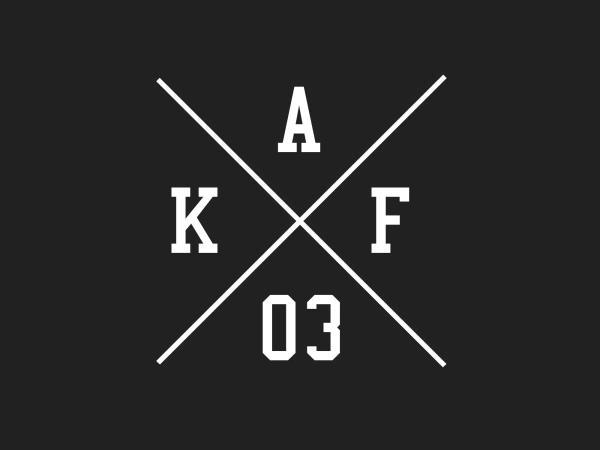 """Aufkleber - """"Kreuz AKF 03"""" Folienplot Weiß, mit Übertragungsfolie,  10069151 - Bild 1"""