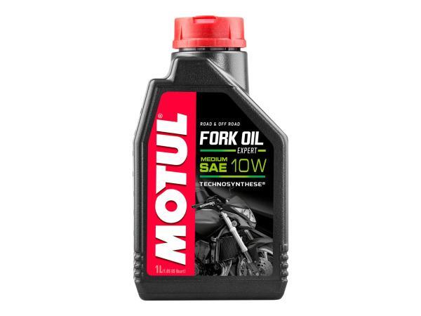 10055419 MOTUL Fork Oil Expert medium Gabelöl 10W - 1 Liter - Bild 1