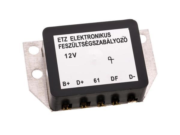 10068238 Spannungsregler 12V elektronisch - für MZ ETZ - Bild 1
