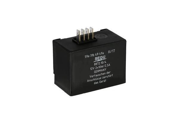 Elba 12V 2x 10W/2,5A, 8872.10/4 - Simson S53, S83, SR50, SR80,  10001758 - Bild 1