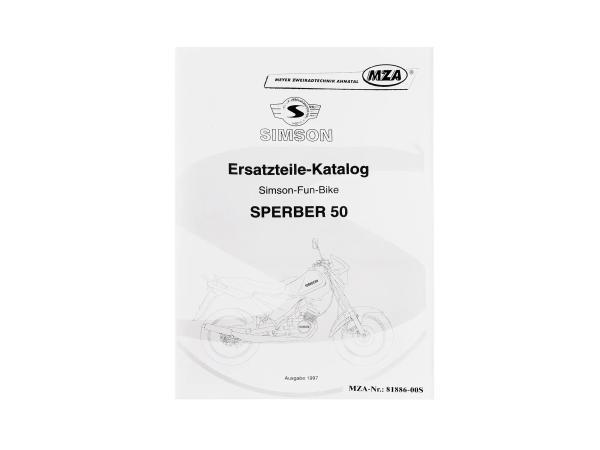Ersatzteilkatalog MS Sperber 50 Ausgabe 1997,  10004070 - Bild 1