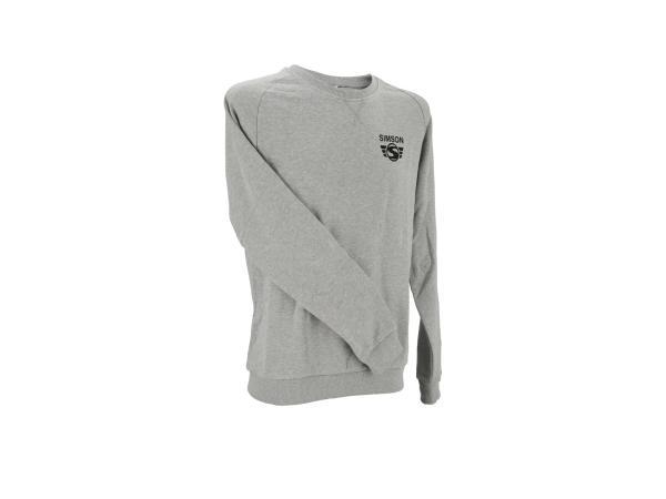 "Sweat-Shirt ""SIMSON-Logo"" - Grau,  10070897 - Bild 1"
