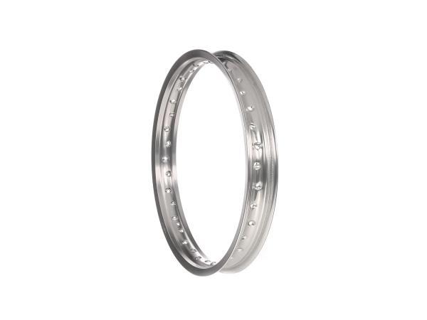 Felge - 1,85 x 18 Aluminium, Silber eloxiert,  10066231 - Bild 1