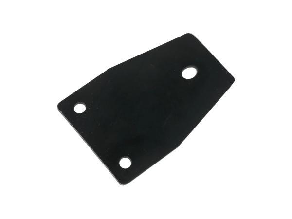 10057436 Gummiunterlage für Gepäckträger hinter der Sitzbank - für MZ ES125, ES150, TS125, TS150 - Bild 1