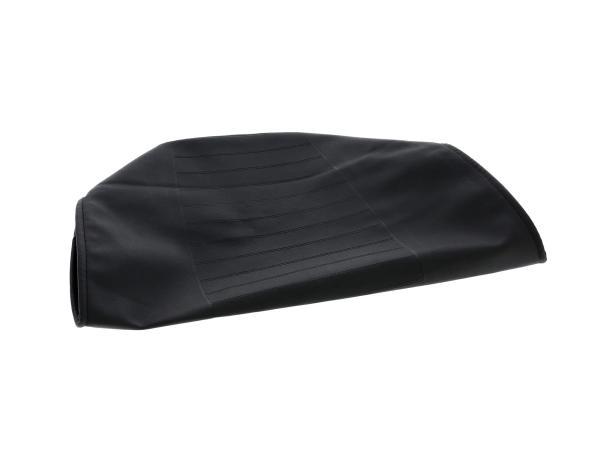 Sitzbezug strukturiert, schwarz, Ausführung mit Werkzeugfach - MZ TS250,  10004952 - Bild 1