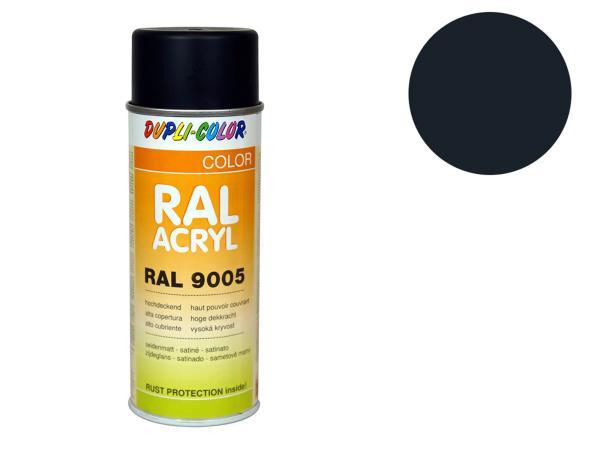 Dupli-Color Acryl-Spray RAL 7021 schwarzgrau, seidenmatt - 400 ml,  10064843 - Bild 1