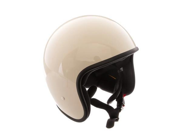 """ARC Helm """"Modell A-611"""" Retrolook - Altweiß,  10068594 - Bild 1"""