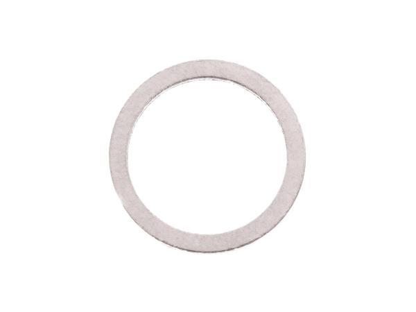 Dichtring Ø 14x18 DIN 7603 aus Aluminium, für Ölablassschraube - für Simson S51, S53, S70, S83, KR51/2, SR50, SR80, AWO,  10002160 - Bild 1