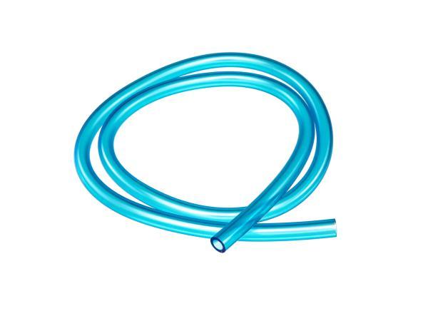 Benzinschlauch, Blau-transparent, 1 Meter, Ø 7x10,5mm,  10065548 - Bild 1