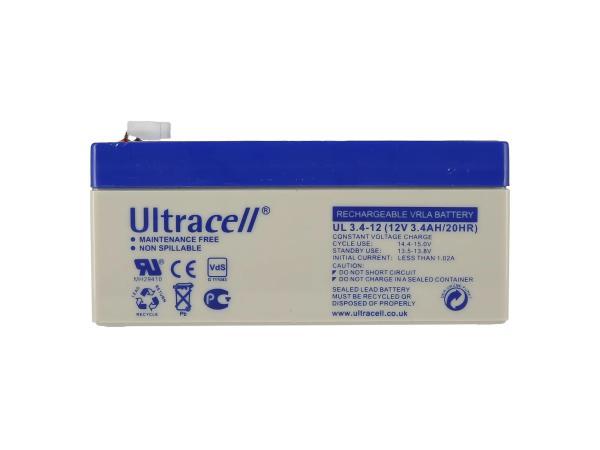 10069174 Batterie - 12V 3,4Ah Ultracell (Gelbatterie) - Bild 1