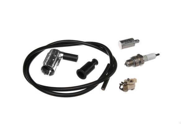Zündungs-Set für Simson, Kabel Schwarz,  10001840 - Bild 1