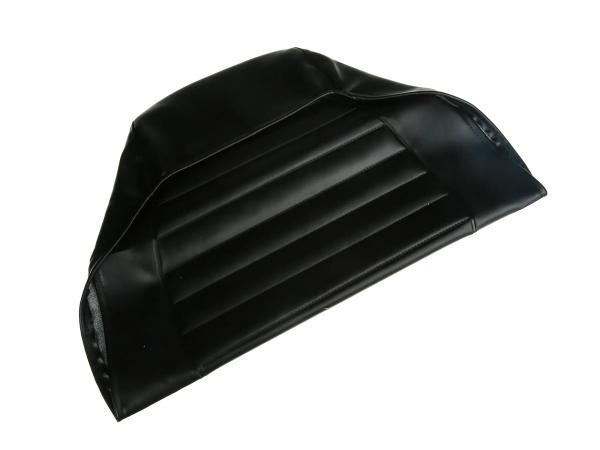 Sitzbezug strukturiert, schwarz ohne Schriftzug - MZ ETZ125, ETZ150, ETZ251, ETZ301,  10003668 - Bild 1