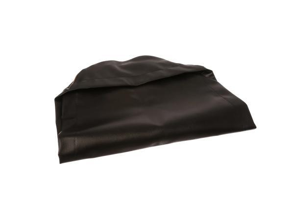10056848 Sitzbezug glatt, schwarz, alte Form - für MZ ES125, ES150 - Bild 1