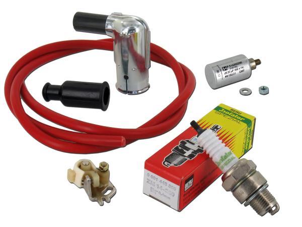 Zündungs-Set für Simson, Kabel Rot,  10001841 - Bild 1