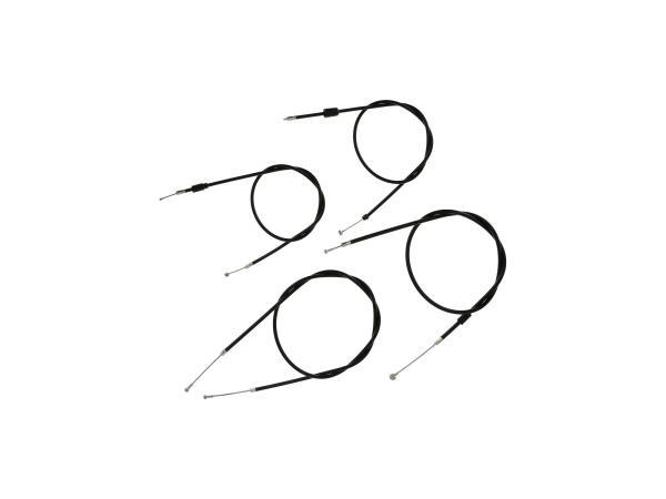 10066120 Bowdenzug-Set in Schwarz - für Simson S51, S70, S53, S83 - Bild 1