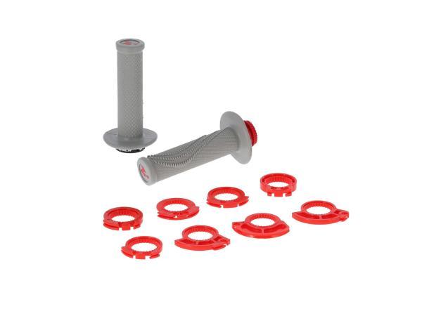 Lock-on Lenkergriffe Grau, für Schnellgasgriff,  10070439 - Bild 1