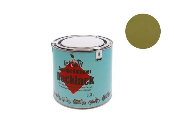Lackfarbe 2K Leifalit Olivgrün, glänzend - 500ml,  10016675 - Bild 1