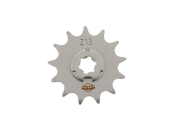 Ritzel, kleines Kettenrad, 13 Zahn - Simson S50, KR51/1 Schwalbe, SR4-2 Star, SR4-3 Sperber, SR4-4 Habicht,  10063325 - Bild 1