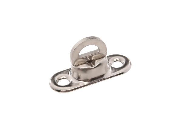 Drehwirbel verzinkt, Grundplatte 1mm hoch, für Verdeck oder Knieschutzdecke - für Duo 4/1,  10067360 - Bild 1