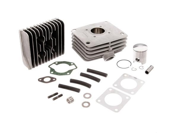 Set: RESO-LT60 - 2-Kanal-Tuningzylinder, 60ccm, Alu mit Beschichtung - Simson S51, KR51/2 Schwalbe, SR50,  10062791 - Bild 1