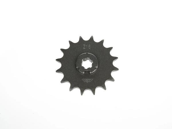 Ritzel, kleines Kettenrad, 16 Zahn - Simson S50, KR51/1 Schwalbe, SR4-2 Star, SR4-3 Sperber, SR4-4 Habicht,  10063544 - Bild 1