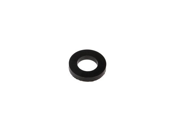 Gummi - Scheibe 22x12mm, Höhe 4mm für Motorlager, Soziusfußrasten Haube - für Simson KR51 Schwalbe, SR50, SR80,  10000720 - Bild 1