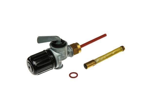 10061562 Kraftstofffilterhahn EHR, ohne Anschluß mit Außengewinde, RT125, BK350, pass. für AWO 425T, 425S, R35 - Bild 1