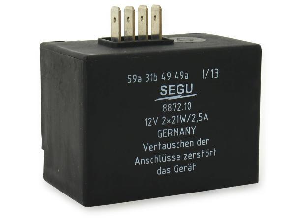 Elba 12V 2x 21W/2,5A, 8872.10/1 - Simson S51, S53, S83, SR50, SR80, SD 25/50,  10059782 - Bild 1