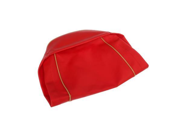 Sitzbezug glatt, rot, alte Form - für MZ ES125, ES150,  10056847 - Bild 1