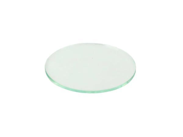 Tachoglas ca. Ø80mm (nicht gewölbt) für Tacho und Drehzahlmesser TS/ETZ,  10057785 - Bild 1