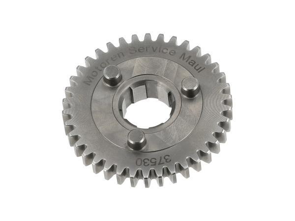 Schaltrad 38 Zahn, 2. Gang, für M53 Motor - für Simson S50, KR51/1 Schwalbe, SR4-2 Star,  10070455 - Bild 1
