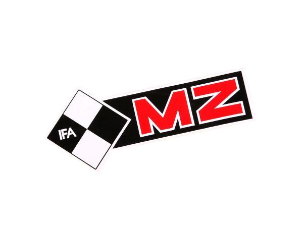 Schriftzug (Folie) MZ IFA linke Seite*,  10054958 - Bild 1