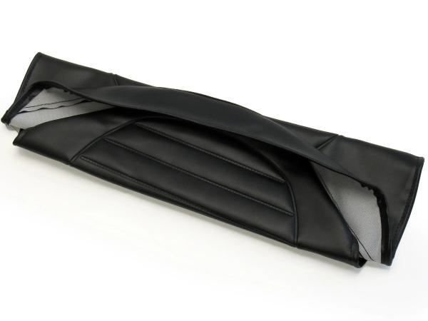 Sitzbezug strukturiert, schwarz ohne Schriftzug - für Simson S53, S83, SR50, SR80,  10055529 - Bild 1