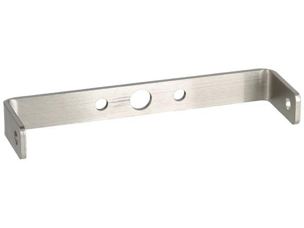 10070847 Rücklichthalter für Gepäckträger, Edelstahl - für Simson S50, S51, S70 - Bild 1