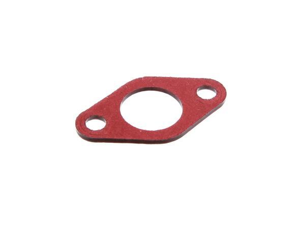 Isolierflanschdichtung 2mm stark, 21mm Durchlass in Rot,  10002518 - Bild 1