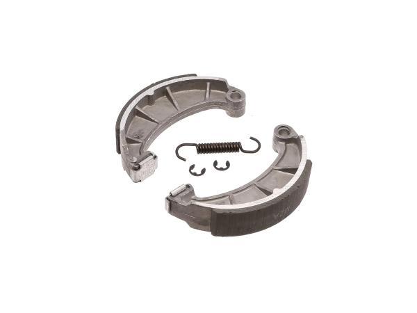 Set: Bremsbacken mit Sprengringen, Feder und auswechselbarer Zwischenlage,  10067107 - Bild 1