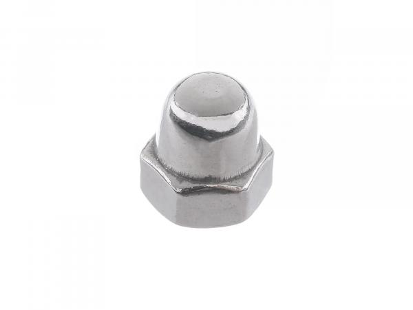 Sechskant-Hutmutter M4 - DIN1587,  10063456 - Bild 1