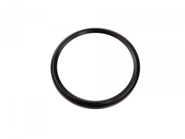 Tachoring Ø80mm, schwarz für Tacho und Drehzahlmesser ETS/TS/ETZ,  10057979 - Bild 1