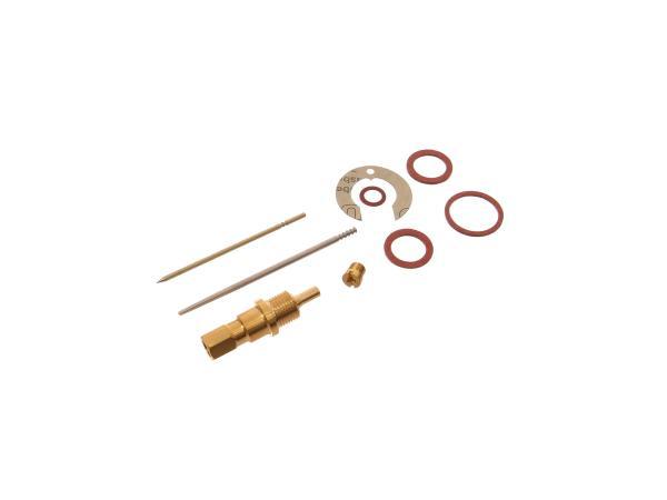 Reparatursatz für Vergaser (9-teilig, Typ Rundschieber) - für IWL Pitty, SR56 Wiesel,  10057755 - Bild 1