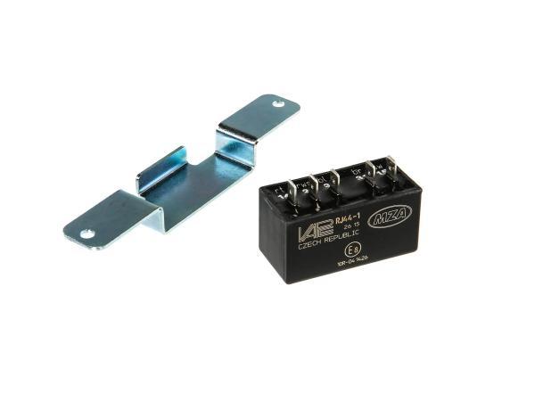 10065525 Set: Steuerteil VAPE RJ44-1 mit Halter - f. alle SIMSON SLEZ 8305.1 und 8305.2 Typen - Elektronikzündung - Bild 1